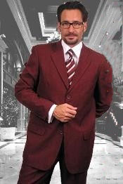 Dark Wedding Burgundy Prom - Maroon Wedding Prom - Wine Color-Wine Dress Lightweight Material Summer Polyester Suits Men for Men