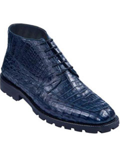 Alligator Belly Botines Para