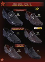 ID#BMA8102 Genuine Caiman skin ~ Gator skin Belly/Teju Lizard skin Slip On ~ Prom Loafer Dress Formal Shoes For Men Dark color black & Coco Chocolate brown