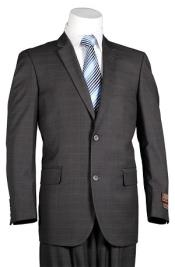 Plaid Suit Vitali Dark