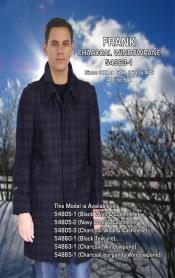 Masculine color Windowpane Frank