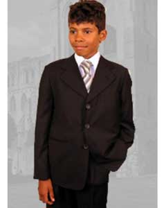 SKU42987 B-100 kids Children Boys Coco Chocolate brown kids suits available in little boys 3 three piece suit for Men Hand Made $79 Inexpensive - Cheap - Discounted Suits for Men By Style and crafted professionally Children Kids Boys Suits for Men