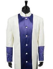 Long length Robe Purple