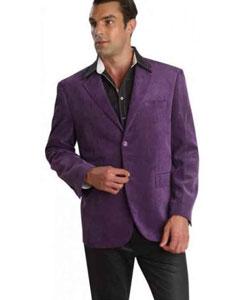 Patroncito Corduroy Purple pastel