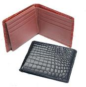 crocodile skin Billfold Wallet
