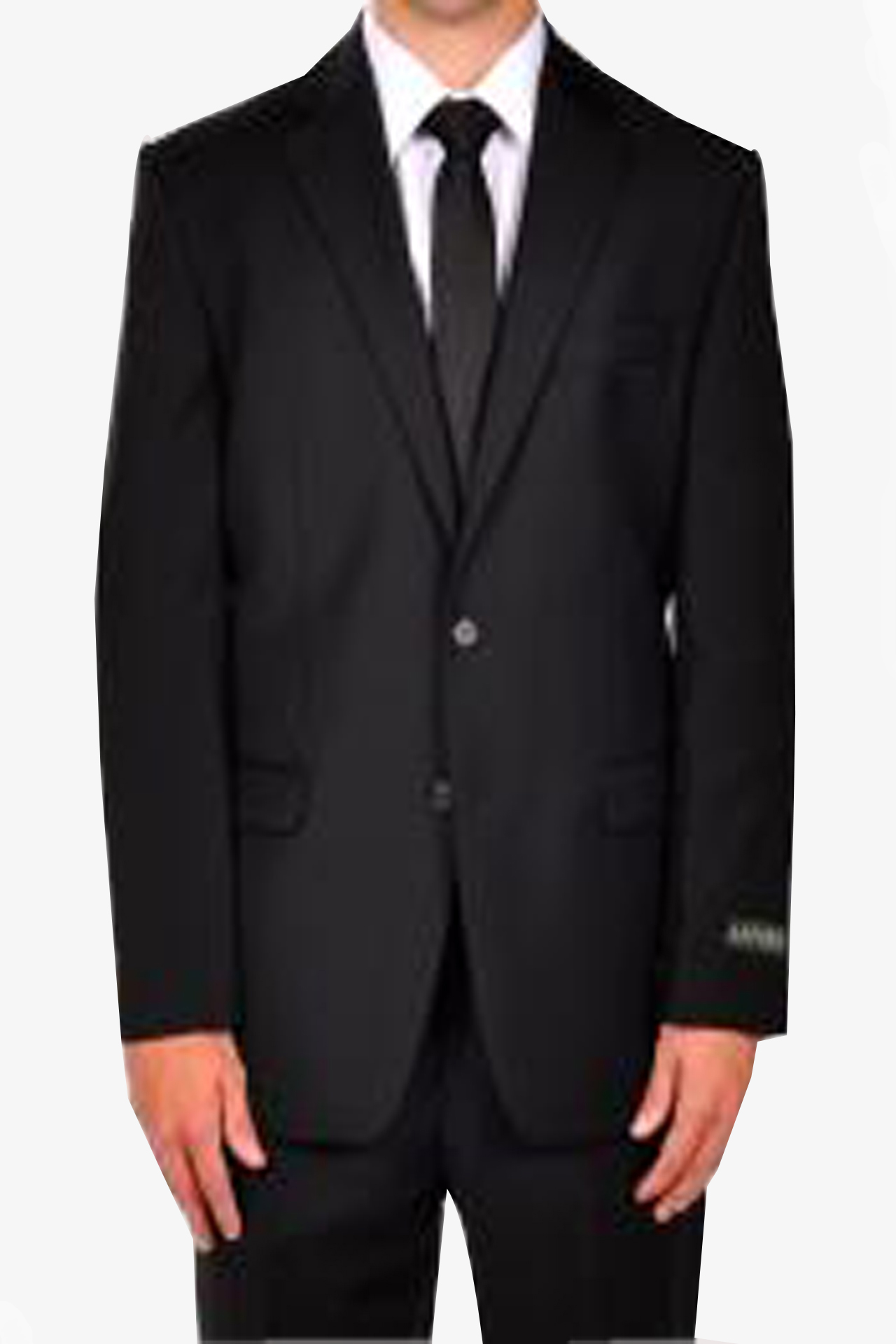 Dark Black Prom Suit