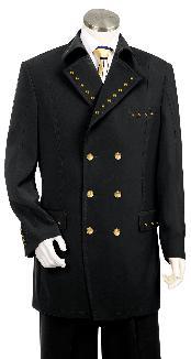 ID#KA8798 Dark color black Prom ~ Wedding Groomsmen Tuxedo Wide Leg 22Inch Pant Suit