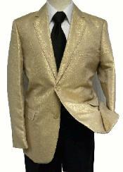 Mens Gold Blazer
