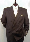 Double Breasted Suit Wool