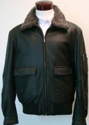 Aviation Jacket With Sherpa-Lined