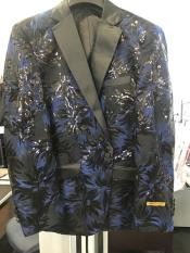 Breasted 1 Button Floral