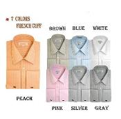 Cuff Striped Dress Shirt