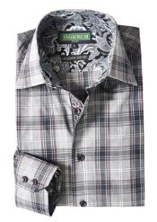 clothing line Gray Plaid