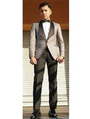 Tux ~ Gray Tuxedo