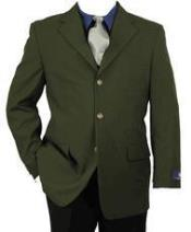 Green Three buttons Sportcoat