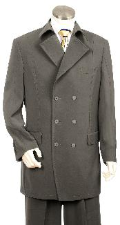 ID#RB8300 Luxurious Grey Zoot Suit
