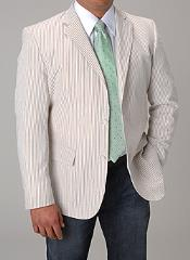 Wright Sport coat Khaki