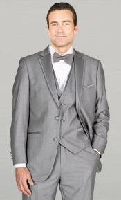Grey Fashion Tuxedo For