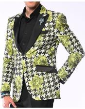Sportcoat Hounds Flower Lime