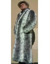 Faux Fur Topcoat ~