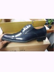 blue colored Cap Toe