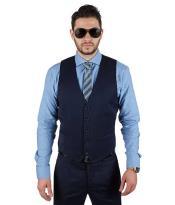 Matching 5 Button Vest