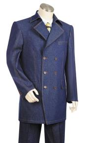 Closure Trench Collar Navy