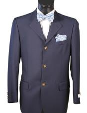 ID#KO18894 100% Wool  Navy Blazer 3 Button Classic Fit Best Cheap Blazer For Affordable Cheap Priced Unique Fancy For Men Available Big Sizes on sale Men Affordable Sport Coats Sale