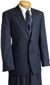 Pinstripe Wool fabric Italian