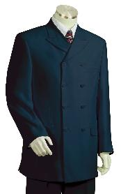 ID#KZ7120 High Fashion Navy Zoot Suit