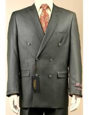 Dark Olive Shiny Sharkskin