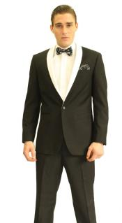 color black Shawl Tuxedo
