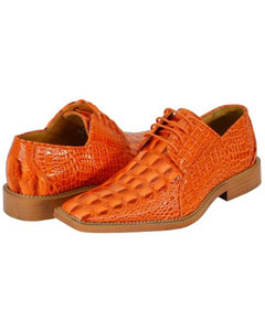 New Orange Dress Shoes