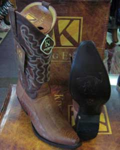 ID#MK916 Genuine Ostrich Leg western Cognac King Exotic Dress Cowboy Boot Cheap Priced For Sale Online