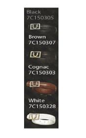 ID#KA8695 Full Quill Ostrich Dress 1 1/4 in Dress Belts - Dark color black,Brown,Cognac,White