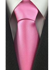 Pink High Fashion Necktie