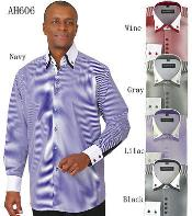 Fashion Stripe Shirt w/