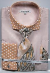 Dot Sand Dress Shirts