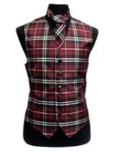 Fit Polyester Plaid Design