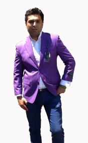 ID#T73C Stage Party Bright Two buttons Jacket Purple pastel color Color Best Cheap Blazer For Affordable Cheap Priced Unique Fancy For Men Available Big Sizes on sale Men Affordable Sport Coats Sale