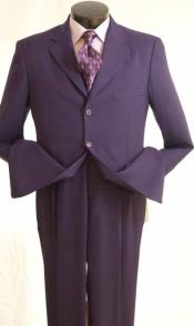 color Purple Suit (