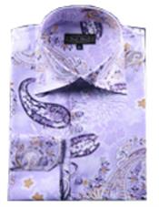 Shirts Purple pastel color