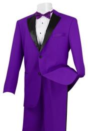 Two buttons Tuxedo Suit
