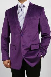 purple suit jacket Alberto