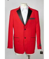 Christmas Red Best Inexpensive ~ Cheap ~ Discounted Blazer  Dark color black Notch Collared Two Button Affordable Cheap Priced Unique Fancy For Men Available Big Sizes on sale Affordable Sport Coats Sale Jacket
