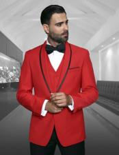 Fashion Red Tux by