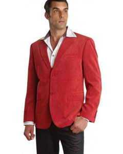 Christmas Red Blazer Suit