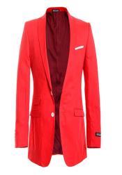 Modern Red Linen Beautiful