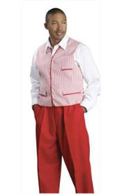 Vest With Matching Pants