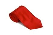 ID#KJ311 red pastel color Silk Basic Solid Plain Groomsmen Vest Necktie With Handkerchief Groomsmen